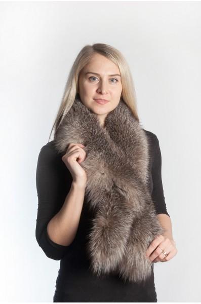 a7347ea7232 Crystal Fox Fur Scarf