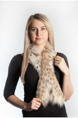 Lynx fur scarf (belly)