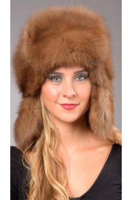 Sable fur hat - Russian style Woman