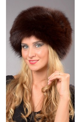 Peken fox fur hat