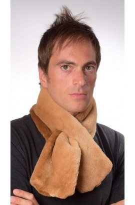 Beaver fur scarf - Double sided Fur
