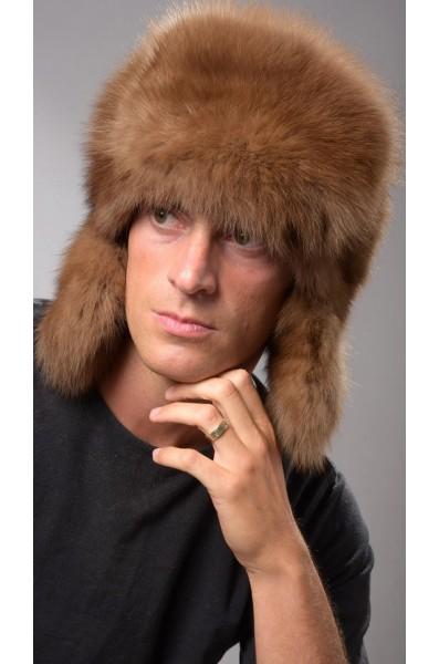 ef649852f8ec8 Men s Sable Fur Hat Russian