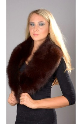 Peken fox fur collar- Neck warmer