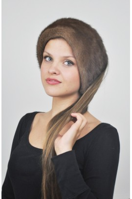 Mink fur headband - Fur collar