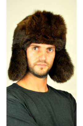 Possum fur hat - Russian style