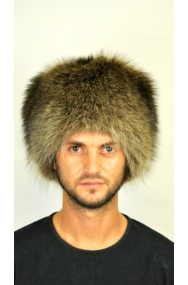 Raccoon fur hat - Classic