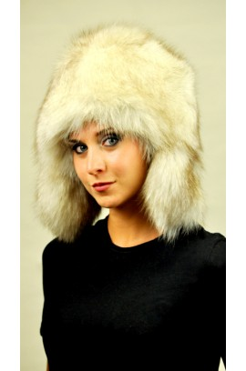 Greenland fox fur hat - Ushanka