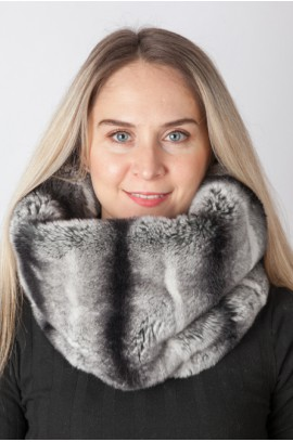Rex – Chinchilla fur neck warmer