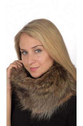Raccoon Fur Neck Warmer