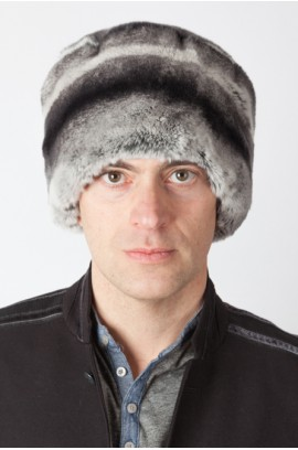 Rex rabbit fur hat