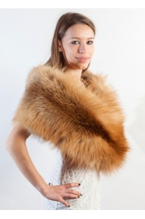 Golden Fox Fur Stole