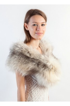 Platinum Fox Fur Stole