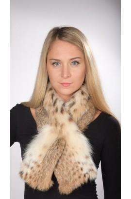 Lynx fur scarf