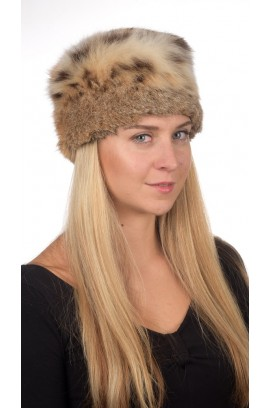 Authentic Lynx fur hat